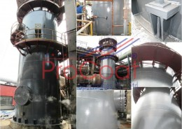 Decomposition Boiler Under ProCoat Protection Coating